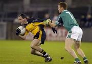 12 November 2005; Brian Dooher, Ulster, in action against Peadar Andrews, Leinster. M Donnelly Interprovincial Football Championship Final, Leinster v Ulster, Parnell Park, Dublin. Picture credit: Pat Murphy / SPORTSFILE
