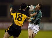 12 November 2005; Dessie Dolan, Leinster, in action against Damien Diver, Ulster. M Donnelly Interprovincial Football Championship Final, Leinster v Ulster, Parnell Park, Dublin. Picture credit: Pat Murphy / SPORTSFILE