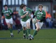 26 November 2005; Andrew Trimble, Ireland. permanent tsb International Friendly 2005-2006, Ireland v Romania, Lansdowne Road, Dublin. Picture credit: Brian Lawless / SPORTSFILE