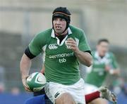 26 November 2005; Denis Leamy, Ireland. permanent tsb International Friendly 2005-2006, Ireland v Romania, Lansdowne Road, Dublin. Picture credit: Matt Browne / SPORTSFILE