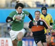26 November 2005; Shane Horgan, Ireland, in action against Romania. permanent tsb International Friendly 2005-2006, Ireland v Romania, Lansdowne Road, Dublin. Picture credit: Matt Browne / SPORTSFILE