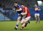 9 April 2014; John Corkery, Cork, in action against James Feehan, Tipperary. Cadbury Munster GAA Football U21 Championship Final, Cork v Tipperary, Páirc Uí Rinn, Cork. Picture credit: Matt Browne / SPORTSFILE
