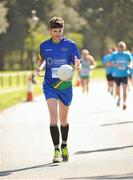 18 April 2014; Stephen Ralph from Dundalk, Co. Louth, in action during The Ray D'Arcy Show Half Million Half Marathon for LauraLynn Children's Hospice, Phoenix Park, Dublin. Picture credit: Tomás Greally / SPORTSFILE