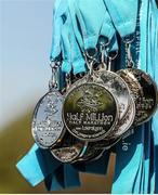 18 April 2014; A general view of the finishers medal during The Ray D'Arcy Show Half Million Half Marathon for LauraLynn Children's Hospice, Phoenix Park, Dublin. Picture credit: Tomás Greally / SPORTSFILE