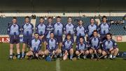 29 January 2006; The Dublin team. Walsh Cup, Dublin v Wexford, Parnell Park, Dublin. Picture credit: Brian Lawless / SPORTSFILE