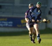29 January 2006; Michael Carton, Dublin, in action against Michael Jacob, Wexford. Walsh Cup, Dublin v Wexford, Parnell Park, Dublin. Picture credit: Brian Lawless / SPORTSFILE