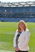 25 April 2014; Marie Hickey, President Elect of the Ladies Gaelic Football Association. Croke Park, Dublin. Picture credit: Brendan Moran / SPORTSFILE