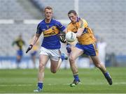 26 April 2014; Cathal O'Connor, Clare, in action against George Hannigan, Tipperary. Allianz Football League Division 4 Final, Tipperary v Clare, Croke Park, Dublin. Picture credit: Barry Cregg / SPORTSFILE