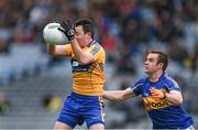 26 April 2014; David Tubridy, Clare, in action against John Coghlan, Tipperary. Allianz Football League Division 4 Final, Tipperary v Clare, Croke Park, Dublin. Picture credit: Barry Cregg / SPORTSFILE