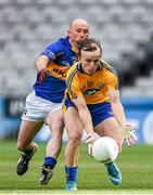 26 April 2014; Martin O'Leary, Clare, in action against Andrew Morris, Tipperary. Allianz Football League Division 4 Final, Tipperary v Clare, Croke Park, Dublin. Picture credit: Barry Cregg / SPORTSFILE