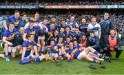 26 April 2014; The Tipperary team celebrate victory with the cup after the game. Allianz Football League Division 4 Final, Tipperary v Clare, Croke Park, Dublin. Picture credit: Barry Cregg / SPORTSFILE