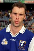 20 June 1999; Andy Bergin of Laois ahead of the Guinness Leinster Senior Hurling Championship semi-final match between Kilkenny and Laois at Croke Park in Dublin. Photo by Aoife Rice/Sportsfile