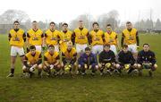 15 February 2006; The DCU squad. Datapac Sigerson Cup, Quarter-Final, Garda College v DCU, Garda College Sportsfield Complex, Templemore, Co. Tipperary. Picture credit: Matt Browne / SPORTSFILE