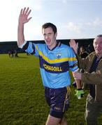 19 February 2006; Maurice Sheridan, Salthill Knocknacarra, celebrates at the end of the game. AIB All-Ireland Club Football Championship, Semi-Final, Salthill Knocknacarra v Kilmacud Crokes, Pearse Park, Longford. Picture credit: Damien Eagers / SPORTSFILE