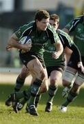 18 February 2006; Matt Mostyn, Connacht. Celtic League 2005-2006, Connacht v Llanelli Scarlets, Sportsground, Galway. Picture credit: Damien Eagers / SPORTSFILE