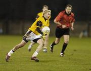 25 February 2006; Conor Mortimer, DCU. Datapac Sigerson Cup Final, Queens University, Belfast v Dublin City University, Parnell Park, Dublin. Picture credit: Damien Eagers / SPORTSFILE