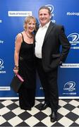 3 May 2014; Ciaran O'Brien and Mary Lewis at the Leinster Rugby Awards Ball. The annual Leinster Rugby Awards Ball Awards Ball took place in the Mansion House, Saturday evening where Jack McGrath was awarded the Bank of Ireland Leinster Rugby Players' Player of the Year and Marty Moore was awarded the Best Menswear Young Player of the Year award. Risteard Cooper was the Master of Ceremonies on a great night which also acknowledged the outstanding contributions of Leo Cullen and Brian O'Driscoll as they retire at the end of the season. For a full list of award winners and more information log on to www.leinsterrugby.ie. Picture credit: Stephen McCarthy / SPORTSFILE