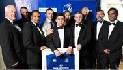 3 May 2014; Representatives from Garda Rugby Club Westmanstown at the Leinster Rugby Awards Ball. The annual Leinster Rugby Awards Ball Awards Ball took place in the Mansion House, Saturday evening where Jack McGrath was awarded the Bank of Ireland Leinster Rugby Players' Player of the Year and Marty Moore was awarded the Best Menswear Young Player of the Year award. Risteard Cooper was the Master of Ceremonies on a great night which also acknowledged the outstanding contributions of Leo Cullen and Brian O'Driscoll as they retire at the end of the season. For a full list of award winners and more information log on to www.leinsterrugby.ie. Photo by Stephen McCarthy/Sportsfile