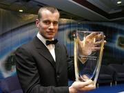 26 February 2006; Shay Given, of Newcastle United, who was presented with the Senior International Player of the Year, at the 16th eircom / FAI International Soccer Awards. Citywest Hotel, Dublin. Picture credit: David Maher / SPORTSFILE