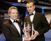 26 February 2006; Shay Given, of Newcastle United, who was presented with the Senior International Player of the Year, by Dr Philip Nolan, Chief Executive, eircom, at the 16th eircom / FAI International Soccer Awards. Citywest Hotel, Dublin. Picture credit: David Maher / SPORTSFILE