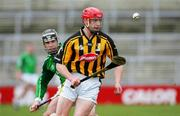 12 March 2006; Mark Keane, Limerick, in action against John Tennyson, Kilkenny. Allianz National Hurling League, Division 1B, Round 3, Limerick v Kilkenny, Gaelic Grounds, Limerick. Picture credit: Kieran Clancy / SPORTSFILE