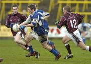 25 March 2006; Craig Rogers, Laois, in action against Graham Dillon,12, Westmeath. Leinster U21 Football Championship Semi-Final, Laois v Westmeath, O'Moore Park, Portlaoise, Co. Laois. Picture credit: Matt Browne / SPORTSFILE