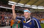 1 April 2006; Felipe Contepomi, Leinster, Leinster, celebrates after the game. Heineken Cup 2005-2006, Quarter-Final, Toulouse v Leinster, Le Stadium, Toulouse, France. Picture credit: Matt Browne / SPORTSFILE