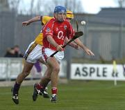 2 April 2006; Tom Kenny, Cork, in action against Eoin Quigley, Wexford. Allianz National Hurling League, Division 1A, Round 4, Wexford v Cork, Wexford Park, Wexford. Picture credit: Pat Murphy / SPORTSFILE
