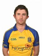 13 May 2014; Colin Compton, Roscommon. Roscommon Football Squad Portraits 2014. Picture credit: Barry Cregg / SPORTSFILE