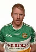 7 May 2014; Niall Darby, Offaly. Offaly Football Squad Portraits 2014, O'Connor Park, Tullamore, Co. Offaly. Picture credit: Barry Cregg / SPORTSFILE
