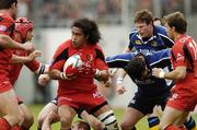 1 April 2006; Finau Maka, Toulouse, in action against Leinster. Heineken Cup 2005-2006, Quarter-Final, Toulouse v Leinster, Le Stadium, Toulouse, France. Picture credit: Matt Browne / SPORTSFILE