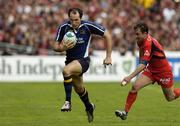 1 April 2006; Girvan Dempsey, Leinster, in action against Jean-Baptiste Elissalde, Toulouse. Heineken Cup 2005-2006, Quarter-Final, Toulouse v Leinster, Le Stadium, Toulouse, France. Picture credit: Matt Browne / SPORTSFILE
