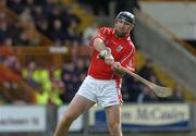 2 April 2006; Brian Corcoran, Cork. Allianz National Hurling League, Division 1A, Round 4, Wexford v Cork, Wexford Park, Wexford. Picture credit: Pat Murphy / SPORTSFILE