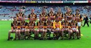 20 June 1999; Kilkenny players prior to the Guinness Leinster Senior Hurling Championship Semi-Final match between Kilkenny and Laois at Croke Park in Dublin. Photo by Ray McManus/Sportsfile