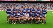 20 June 1999; Laois players prior to the Guinness Leinster Senior Hurling Championship Semi-Final match between Kilkenny and Laois at Croke Park in Dublin. Photo by Ray McManus/Sportsfile