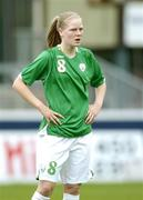 22 April 2006; Diane Caldwell, Republic of Ireland. World Cup Qualifier, Republic of Ireland v Switzerland, Richmond Park, Dublin. Picture credit: Ray Lohan / SPORTSFILE