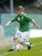22 April 2006; Kate Taylor, Republic of Ireland. World Cup Qualifier, Republic of Ireland v Switzerland, Richmond Park, Dublin. Picture credit: Ray Lohan / SPORTSFILE