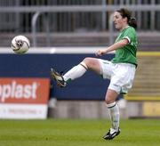 22 April 2006; Edel Malone, Republic of Ireland. World Cup Qualifier, Republic of Ireland v Switzerland, Richmond Park, Dublin. Picture credit: Ray Lohan / SPORTSFILE