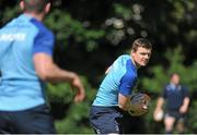 27 May 2014; Leinster's Brian O'Driscoll in action during squad training ahead of their Celtic League 2013/14 Grand Final against Glasgow Warriors on Saturday. Leinster Rugby Squad Training, Rosemount, UCD, Belfield, Dublin. Picture credit; Ashleigh Fox / SPORTSFILE