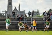 18 May 2014; General view of action during the game. Connacht GAA Football Senior Championship Quarter-Final, Roscommon v Leitrim, Dr. Hyde Park, Roscommon. Picture credit: Piaras Ó Mídheach / SPORTSFILE