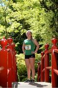 27 May 2014; Aviva Irish Schools Track and Field Championship finalist Molly Scott was dreaming of Tokyo 2020 at the finals launch today at the Japanese Gardens in Tully, Co. Kildare. Picture credit: Pat Murphy / SPORTSFILE