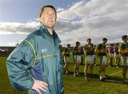 23 April 2006; Kerry manager Jack O'Connor as his team prepare for the parade. Allianz National Football League, Division 1 Final, Kerry v Galway, Gaelic Grounds, Limerick. Picture credit: David Maher / SPORTSFILE