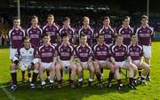 23 April 2006; The Galway team. Allianz National Football League, Division 1 Final, Kerry v Galway, Gaelic Grounds, Limerick. Picture credit: David Maher / SPORTSFILE