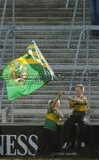 23 April 2006; Young Kerry supporters wave a flag during the game. Allianz National Football League, Division 1 Final, Kerry v Galway, Gaelic Grounds, Limerick. Picture credit: David Maher / SPORTSFILE