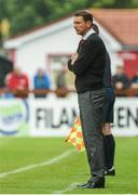 1 June 2014; Sligo Rovers manager Ian Baraclough. SSE Airtricity League Premier Division, Sligo Rovers v Shamrock Rovers, The Showgrounds, Sligo. Picture credit: Ramsey Cardy / SPORTSFILE