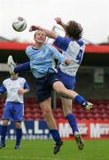 14 May 2006; Cormac Hayes, Blarney United, is tackled by David Spratt, Avondale United. FAI Carlsberg Intermediate Cup Final, Blarney United v Avondale United, Turners Cross, Cork. Picture credit; Kieran Clancy / SPORTSFILE