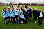 14 May 2006; The Avondale United squad celebrate victory. FAI Carlsberg Intermediate Cup Final, Blarney United v Avondale United, Turners Cross, Cork. Picture credit; Kieran Clancy / SPORTSFILE