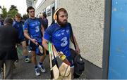 8 June 2014; Waterford players Noel Connors, right, and Donie Breathnach arrive for the game. Munster GAA Hurling Senior Championship, Quarter-Final Replay, Cork v Waterford, Semple Stadium, Thurles, Co. Tipperary. Picture credit: Diarmuid Greene / SPORTSFILE