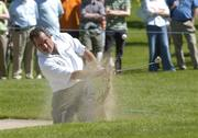3 June 2006; Sam Torrance, Scotland, plays from the bunker on the second during the second round of the AIB Irish Seniors Open. Fota Island Golf Club, Co. Cork. Picture credit: Pat Murphy / SPORTSFILE