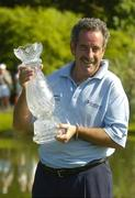 4 June 2006; Sam Torrance, Scotland, with the trophy after victory in the AIB Irish Seniors Open. Fota Island Golf Club, Co. Cork. Picture credit: Pat Murphy / SPORTSFILE